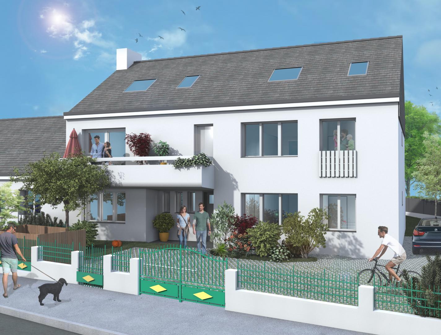 Programme immobilier neuf en Loire Atlantique : résidence Iris à Saint Herblain - TK Promotion
