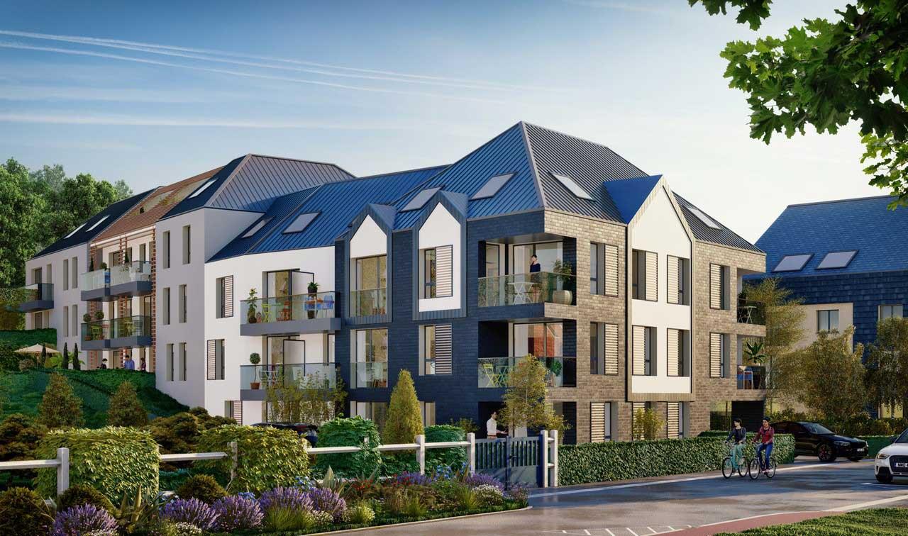 Programme immobilier neuf en Normandie à Honfleur