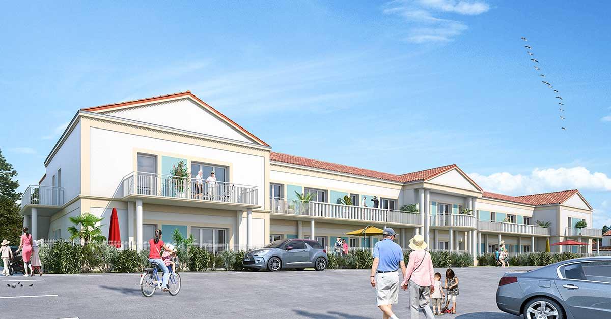 Programme immobilier neuf en Vendée : résidence Valentine à Saint Jean de Monts