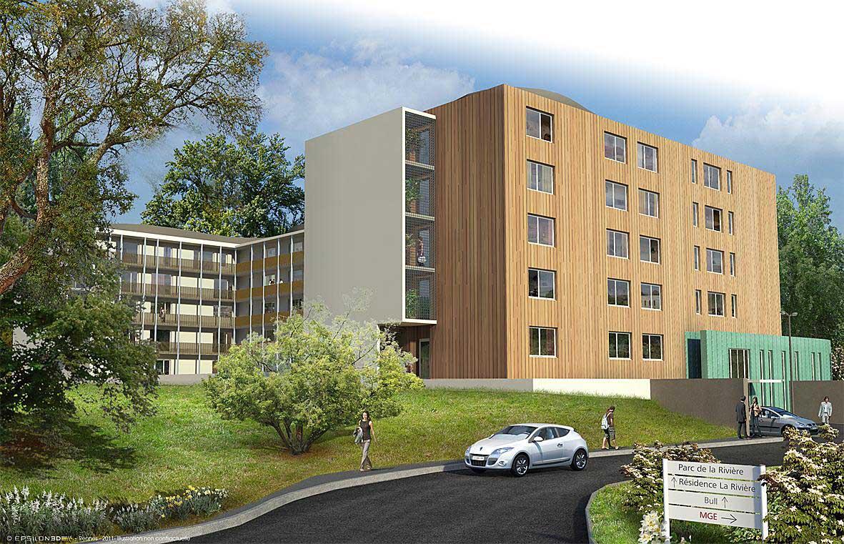 Promoteur résidence étudiante de 193 logements - TK Promotion