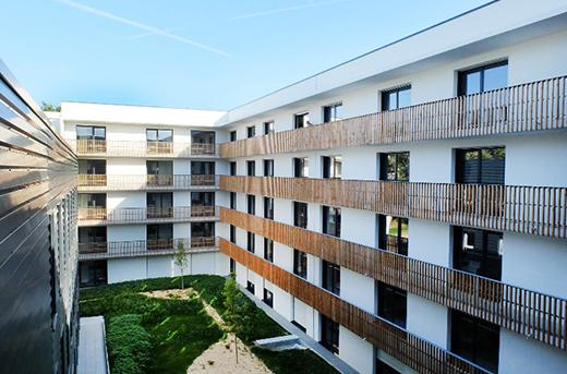 Conception résidence gérée à Nantes - TK PROMOTION